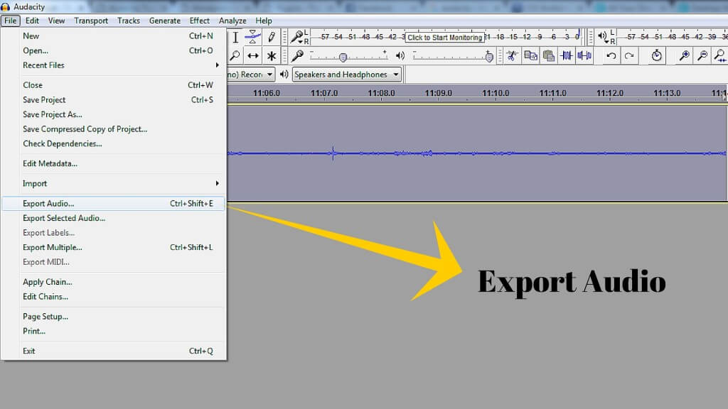 Audacity Tutorial-Export Audio