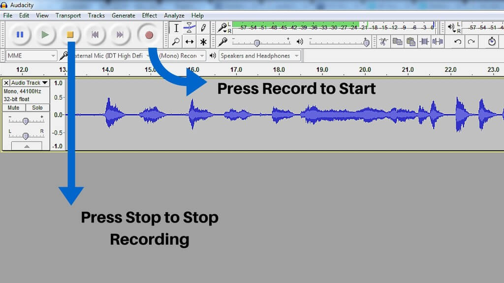 Audacity Tutorial-Audacity for windows sound recording