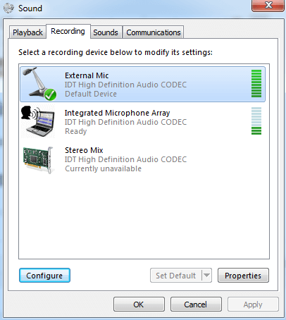 How to record audio on PC