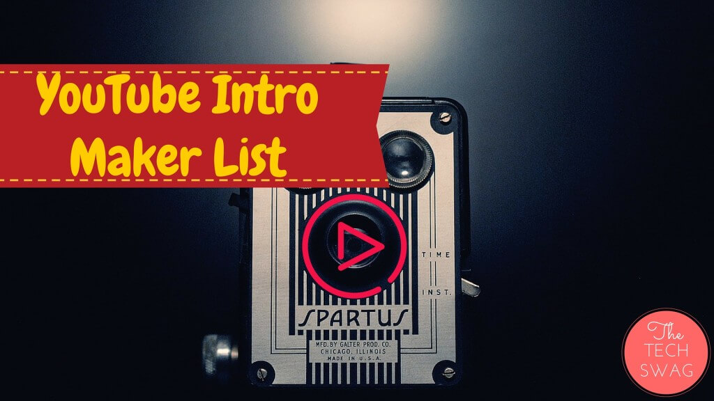 YouTube Intro Maker List