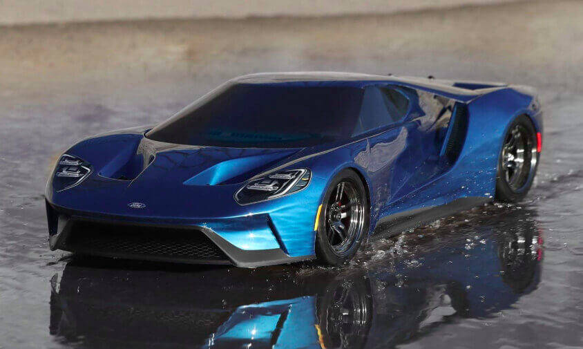 Traxxas-4WD-Ford-GT-Vehicle