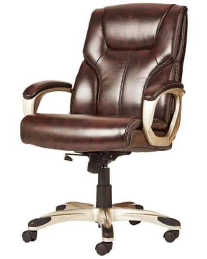 AmazonBasics-High-Back-Executive-Swivel-Office-Desk-Chair